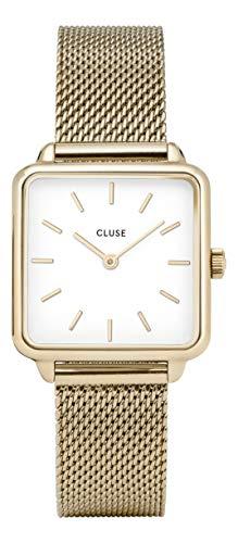 Cluse Damen Analog Quarz Uhr mit Edelstahl Armband CL60002