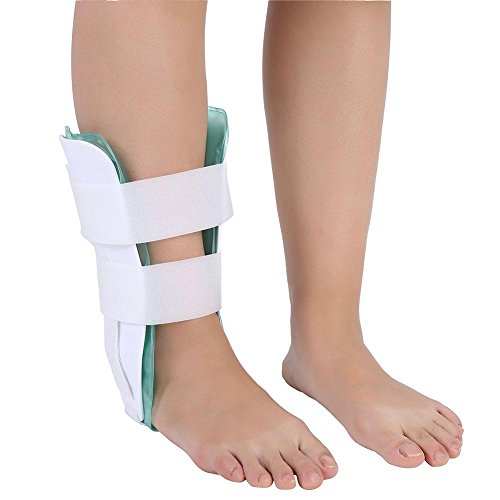 Knöchelstütze einstellbar atmungsaktiv Knöchelorthese Fuß Drop Orthese Knöchel Stabilisator Splint mit Gel Knöchelschutz Ideal für Verstauchung und Arthritis Recovery -