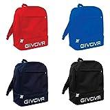 Givova B029, Zaino Givova Sport Unisex, Blu