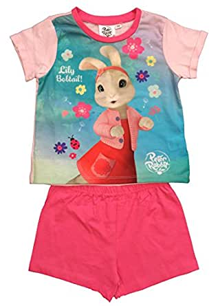 Peter Rabbit Pyjamas Girls PJS Ages 18 Months To 5 Years