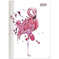 "Agenda settimanale Ladytimer 2019 ""Flamingo"" 10,7x15,2 cm"
