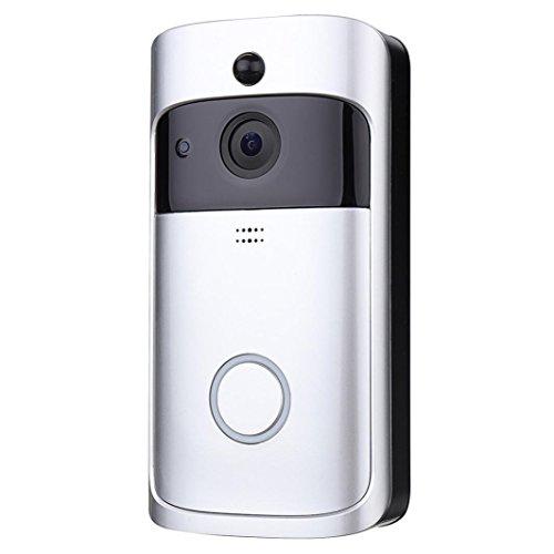 HKFV WIFI Video Türklingel Smart Türklingel 720 P HD Wifi Überwachungskamera Nachtsicht 720P Wifi...
