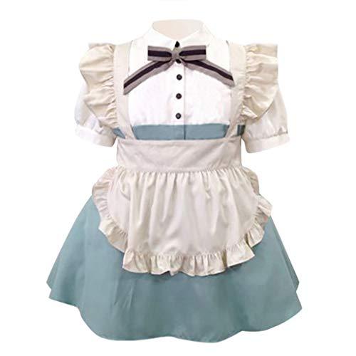 Solike Damen Viktorianisches Rokoko-Kleid, Mittelalter Kleid Lolita Gothic Kleider Kostüm Prinzessin Halloween Weihnachten Party Cosplay - Prinzessin Jasmin Katze Kostüm