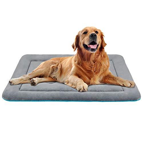 JoicyCo Großes Hundebett Kastenmatte 42 Hundematte waschbar Anti-Rutsch-Haustier-Betten Matratze Zwingerpolster