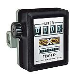T.I.P. 30073 Zählwerk Zähler Durchflussmesser für Pumpen TZW 4D