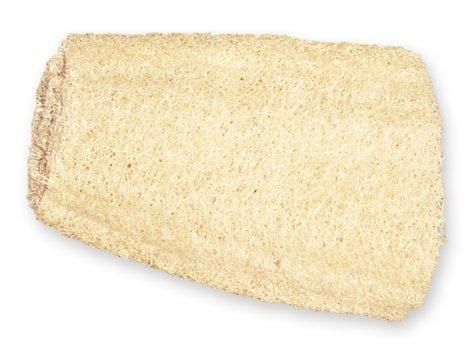 Agiva Esponja de lufa exfoliante corporal para baño