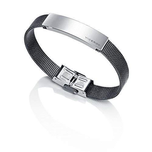 Imagen de pulsera de caballero en acero de viceroy fashion colección air 6423p01000