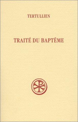 Trait du baptme