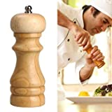 Shopo's Mini Wooden Salt & Pepper Grinde...