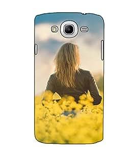 Fuson Designer Back Case Cover for Samsung Galaxy Mega 5.8 I9150 :: Samsung Galaxy Mega Duos 5.8 I9152 (A Lady In The Garden)