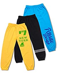 T2F Regular fit Boys Trousers (Pack of 3)
