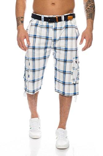Herren Shorts - mehrere Farben ID489, Größe:M;Farbe:Weiß