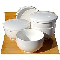 Mushi sopa cuencos blanco cerámica 11 ...