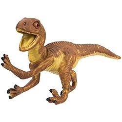 Safari Ltd Wild Velociraptor bebé–educativo pintado a mano figura decorativa–construcción de y seguro sin BPA materiales de calidad–para edades 3y hasta