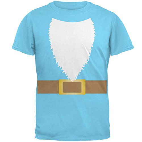 Halloween Rasen Gnome Kostüm Herren-T-Shirt Sky (Kostüm Lawn Gnome Halloween)