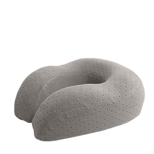 Protect The Neck U-Shaped Pillow Neck Cervical Spine travel Adult Memory Cotton u-Shaped Adjustment Buckle -