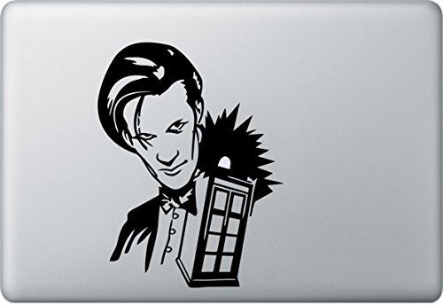 Sticker Genie Doctor Who Tardis Adesivo Per Macbook Air Pro Per Apple Doc 13 Pollici