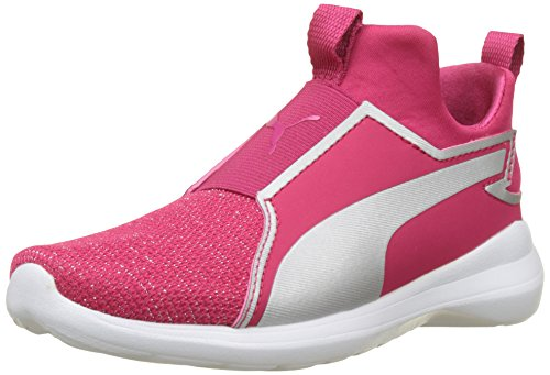 Puma Rebel Mid Gleam PS, Baskets Hautes Mixte Enfant