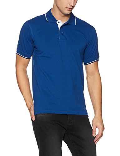 Louis Philippe Mens Solid Polo T-shirt  available at amazon for Rs.1259