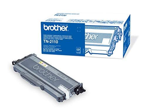 Brother Original Tonerkassette TN-2110 (für Brother HL-2140, HL-2150N, HL-2170W, DCP-7030, DCP-7040, DCP-7045N, MFC-7320, MFC-7440N, MFC-7840W)