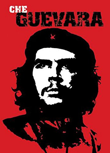 10 Che (1art1 15469 Ernesto Ché Guevara - Portrait, Rot Postkarte 15 x 10 cm)