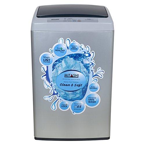 Mitashi 5.8 kg Fully Automatic Top Loading Washing Machine (MiFAWM58v20, Grey)