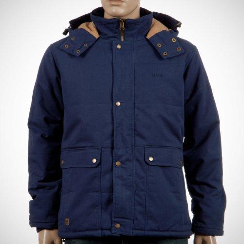 Matix Herren Mantel Blau