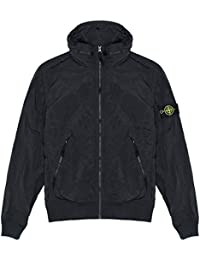 Stone Island Jacket - Spring Summer 2018 Junior Black Nylon Metal Bomber Jacket – RRP £275 (681641535 V0029)