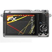 atFoliX Olympus SH-2 Lámina Protectora de Pantalla - 3 x FX-Antireflex-HD antirreflectante de alta resolución Protector Película