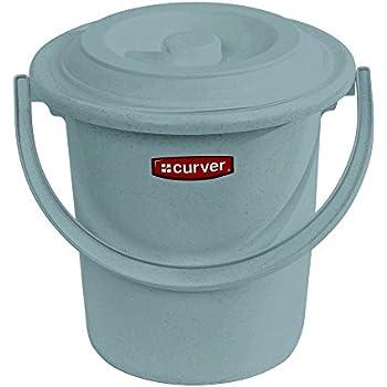 Curver 173438 Seau Toilette Adulte Polypropylène 10 L