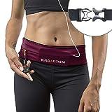 Laufgürtel, voll einstellbarer Verschluss, Fitness-Gürtel, Schlüsselclip. Geeignet für iPhone 6,7, plus, Unisex, geeignet für Laufen, Radfahren, Walking, Jogging, Fitnessstudio, Reisen, draußen