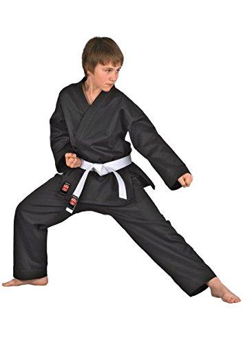 """DANRHO Karate Anzug """"Dojo Line"""", Schwarz Danrho 140 cm"""