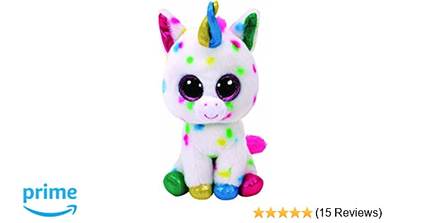 Alaska Stuffed Animals, Blitz The Multi Coloured Unicorn Ty Beanie Boos Medium 23cms Brand New Release Toys Hobbies Beanie Babies Original