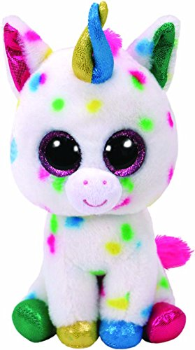 Ty Harmonie Peluche Unicornio, Color Multicolor, Blanco (United Labels Ibérica 37266TY)