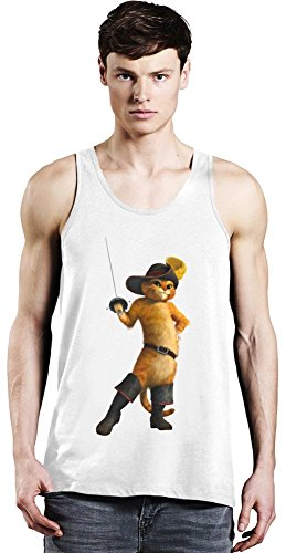 Shrek Puss In Boots Tank Top XX-Large