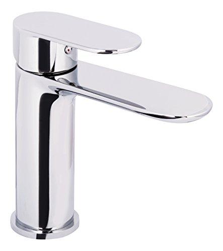 'aquaSu® Einhandmischer Molera für Waschtisch I Chrom I Wasserhahn | Einhebelmischer