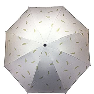 GCH Vinyl umbrella parasol umbrella folding dual-use anti-mite, A