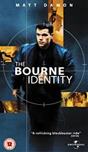 The Bourne Identity [VHS] [Import allemand]