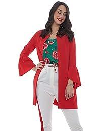 Amazon.it  spolverino donna - Giacche   Giacche e cappotti ... 78c95abd330