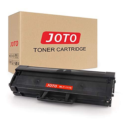 JOTO MLT-D111L MLT-D111S Cartucho de Tóner Compatible para Samsung MLT-D111S D111S (1 Pack) con Samsung Xpress SL-M2026W M2020W M2070 M2070FW M2026 M2020 M2022 M2022W M2070W M2070F M2078W