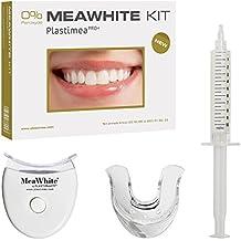 MEAWHITE BLANQUEAMIENTO DENTAL - Kit de Blanqueamiento Dental LED en casa - 0% PEROXIDO - Para una sonrisa perfecta !!BLANCO COMPROBADO!! - Blanquea tus dientes de forma segura - 100 % Efectivo - No daña el esmalte de tus dientes - Calidad Garantizada - Fabricado en Francia