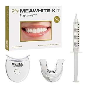 Kit Dents Blanches - Blanchiment dentaire à domicile complet - Formule brevetée SANS peroxyde - Kit Meawhite - Sourire parfait en 5 jours !