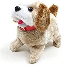 YIJUN Soft Toy Fantastic Puppy Battery Operated Back Flip Jumping Dog Jump Run Toy Kid