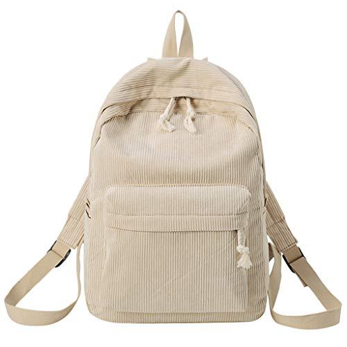 LILIGOD Rucksack Backpack College -Stil Tasche Mädchen Tasche Student Schultasche Paket großer Kapazität Wild Cord Leichtgewicht College School Bag Freizeittasche Outdoor Travel Bequem (Petite Travel Blazer)