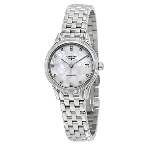 Longines Les Grandes Classiques Flagship Mother of Pearl Diamond Dial Automatic Ladies Watch L42744876, Model: L42744876, Hand/Wrist Watch Store
