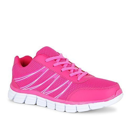 Fitters Sportschuh Runner Rosa / Turnschuh Pink , Größe:43