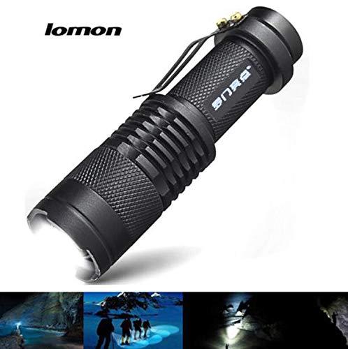 FENSIN LOMON IPX-55 wasserdichte LED Outdoor taktische Taschenlampe Zoom Posaune Lampe für Kinder Angeln Wandern Camping