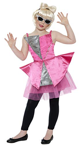 Dance Diva Kinderkost�m Gaga Kost�m Disco Lady Kinder 9-12 Gr L (Gaga Kleid Halloween Lady)