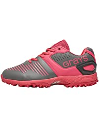 GRAYS Mesdames gx8500Chaussures de Hockey–Argent Rose