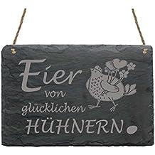 Stempel « Eier Von Glücklichen Hühnern 07 » Hühner Gockel Hahn Hühnerhof Bauer Bauernhof Bastel- & Künstlerbedarf